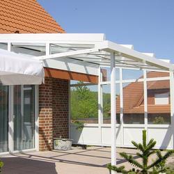 Terrassendach mit Seitenteil