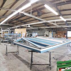 Produktion Dachbau