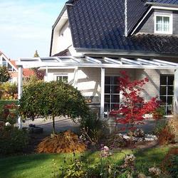 Terrassendach mit Gratsparren